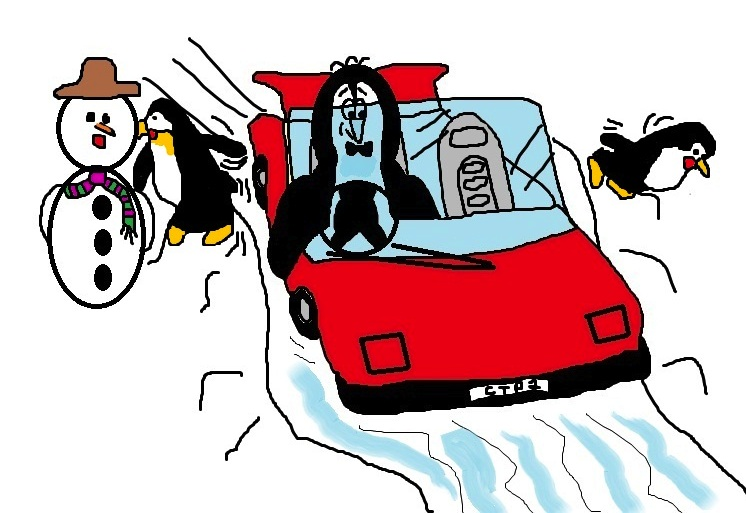 Clive the Penguin from one of Scott Welcomme's fun songs for children