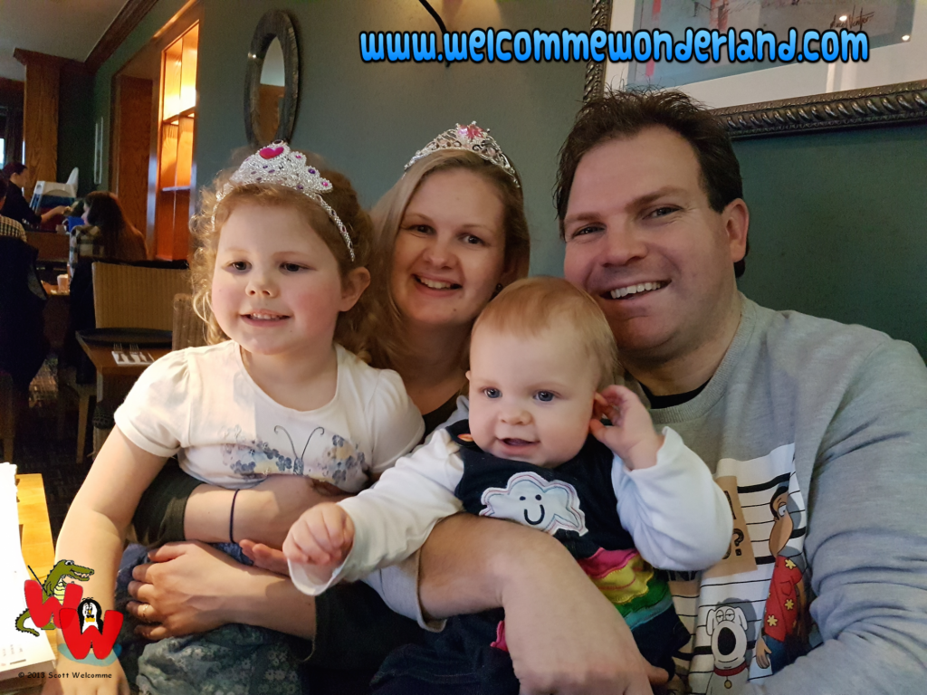 Image of Scott Welcomme's family (My lovely family) sharing laughter, fun and happiness from Welcomme Wonderland