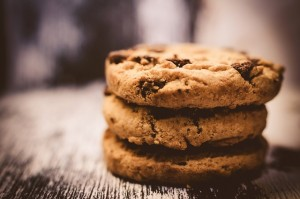 A picture of some cookies! A light hearted pic to explain the use of cookies on the Welcomme Wonderland website