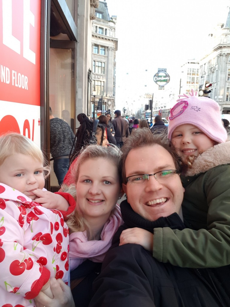 My amazing family treating ourselves to a little family time over the festive period at Oxford Street, London, England. Exactly what Welcomme Wonderland is about!