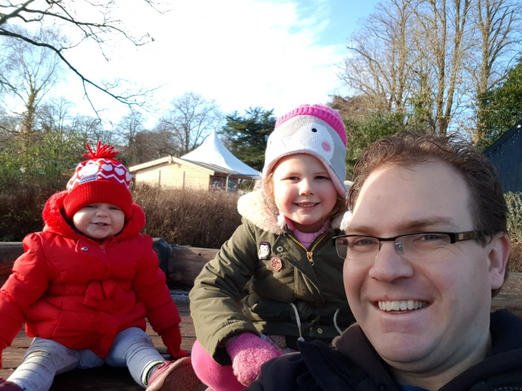 Me & my girls enjoying some quality time together at Upton Country park, Poole. We gave Mummy a break for a moment to have some 'me' time